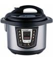 Elektrický tlakový hrnec určený pro rychlé, zdravé a úsporné vaření. Při vaření si můžete vybrat z přednastavitelných programů (programy jsou v angličtině)