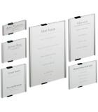 Informační štítky, tabulky, systémy, piktogramy